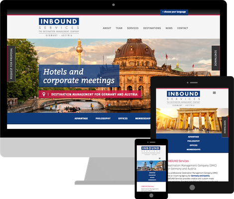 Jimdo Webdesign Inbound Services