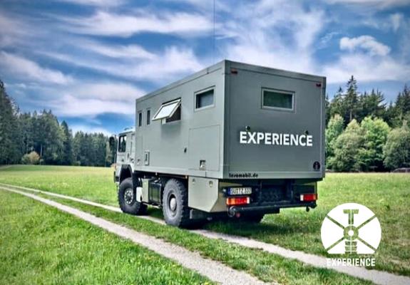 Motor abstellen und Wohnkabine nivillieren - kochen - genießen - Familienzeit im Weltreisemobil/Fernreisemobil