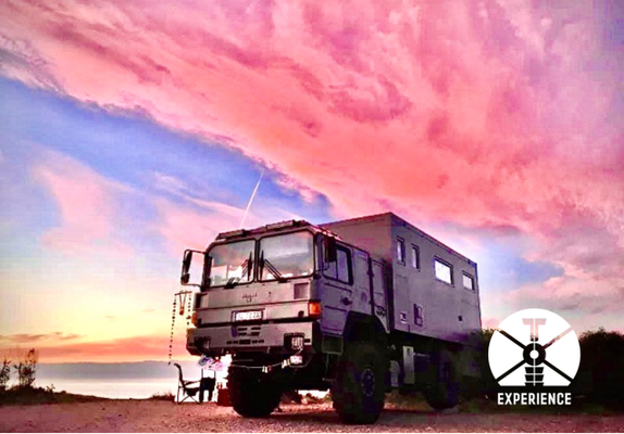 Freedom & Independance - the most beautiful place to be while expedition vehicle overland travel through the world. is that full of bliss ? (lol)
