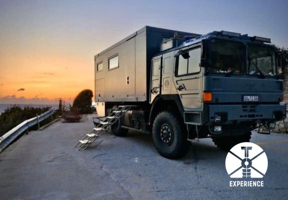 Sonnenuntergang/Sonnenaufgang - Expeditionmobil - Freiheit - Selbstbestimmtheit ganz individuell - perfekt - ein Traum