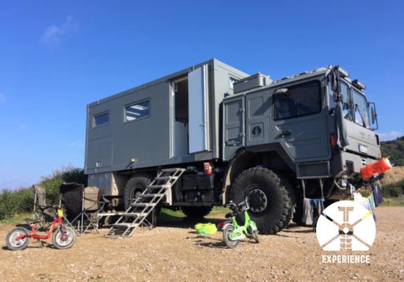 Familienleben im Weltreisemobil. Stationen einer Overland Reise im Expeditionsfahrzeug / LKW-Camper in Europa