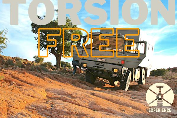 Torsion free / Zwischenrahmen / wie wichtig ist die Koffer-Lagerung / Rahmenbau für Expeditionsmobile. Beratung - Reiseberatung - Planung