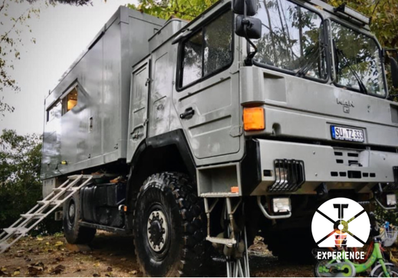 Camping darf auch mal sein - Wäsche waschen und Service am Weltreisemobil/Expeditionsmobil. Und eine Neujahrsfeier