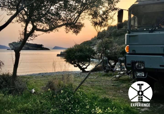 enjoy nature - pure freedom & independance while overland travelling in expedition vehicles / expedition truck camper through europe