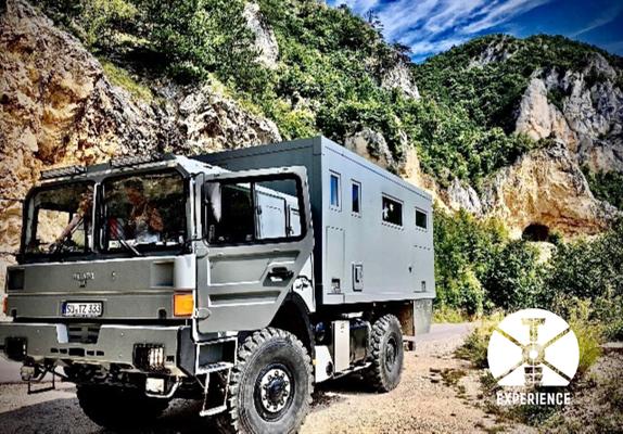 OffRoad/Gravel Road Erfahrungen. Tiefe Tunnel, ausgewaschene Pisten - Expedition Vehicle Overland Travel at its best