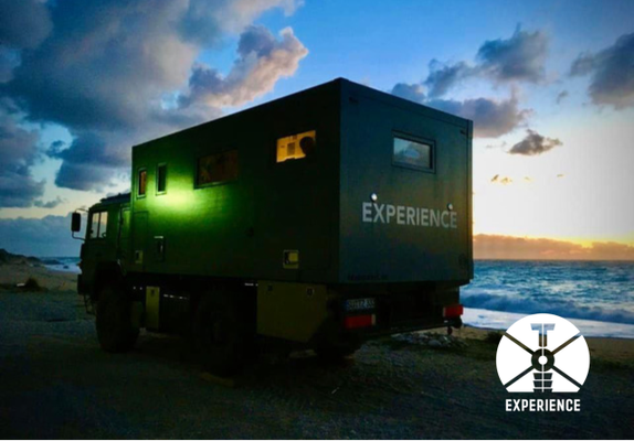 The perfect day ends with best views out your expedition vehicle. Expedition trucks in perfection - no more - not less - priceless ;-)