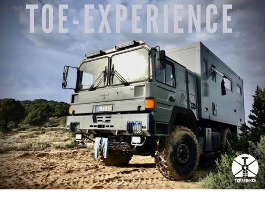 TOE-Experience unterwegs im Corona-Jahr 2020 - Ein Roadtrip durch Europa an die schönsten Strände im Allrad Fernreisemobil