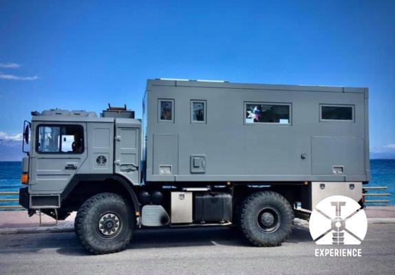 Reisefahrzeug auf Lkw Basis - Lkw-Expeditionsmobile, die einen Dank bester Technik an jeden abgelegenen Ort der Welt bringen. Kunst & Können.