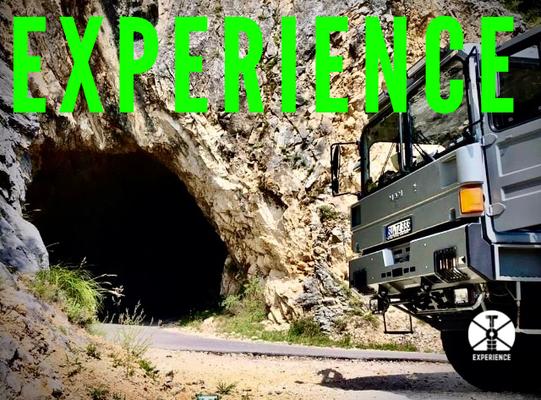 Overlanding Europe im Expedition Vehicle / onroad and Off Road unterwegs mit dem Expeditionsfahrzeug. Stabilität und Zuverlässigkeit
