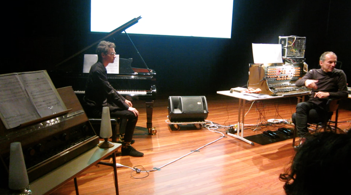 Ronan Apcar (piano) with Peter Pichler (Mixture Trautonium)