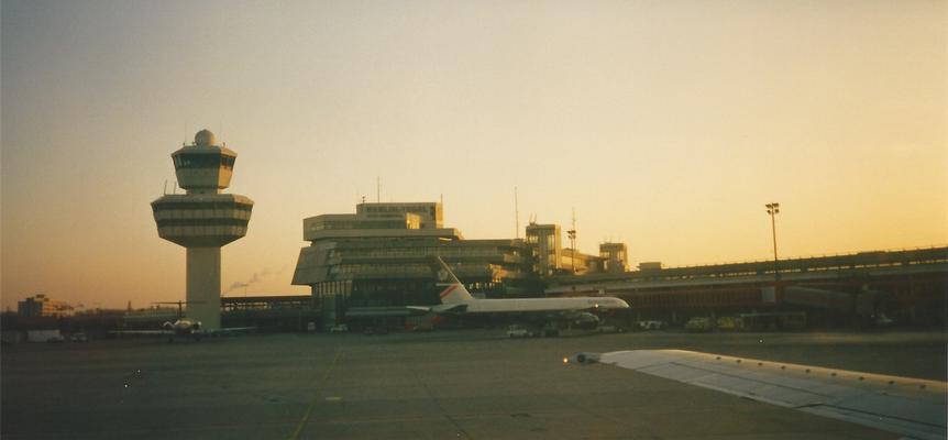 … Ankunft in Berlin Tegel...