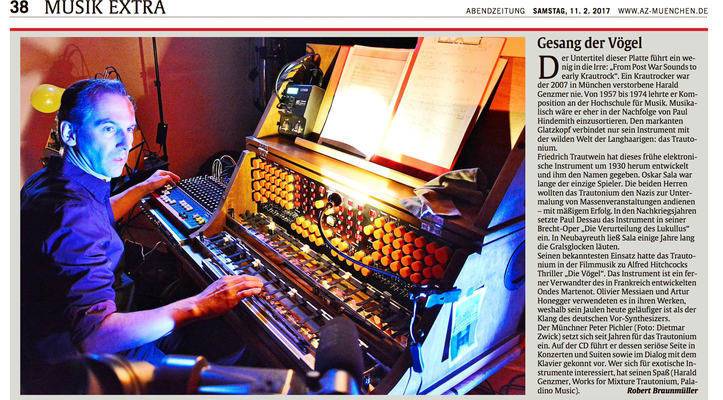 Das Trautonium in der Abendzeitung