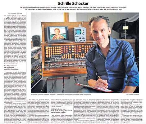 """Peter Pichler in """"Leute"""" in der Süddeutsche Zeitung"""