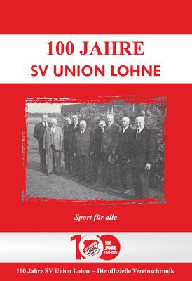 100 Jahre Union Lohne - Titelseite des Covers