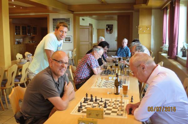 Die Mitglieder unserer Spielgemeinschaft treffen sich jährlich zu einem gemütlichen Beisammensein...