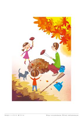 『秋の恵み』