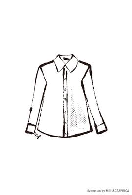 カット線画『ファッションアイテム09』