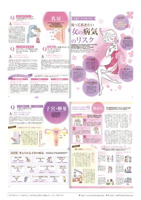 雑誌『FYTTE (フィッテ)10月号』特集ページイラストカット |CL:プレジデント社