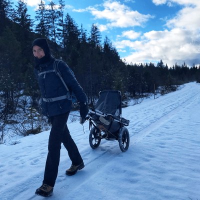 Hike Kid - Offroad Kinderwagen am Oberen Isartal