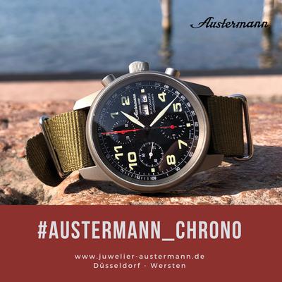 Sammleruhr Austermann Automatik Chrono