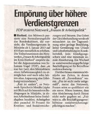 """""""Empörung über höhere Verdienstgrenze"""" (unbekannt)"""
