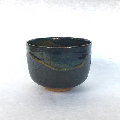 髙取春慶釉茶碗