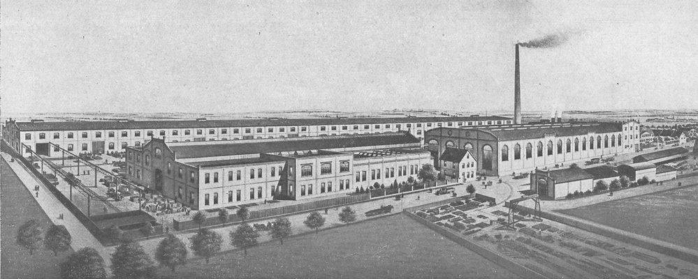 Paul Schütze Maschinenfabrik idealtypisch um 1900