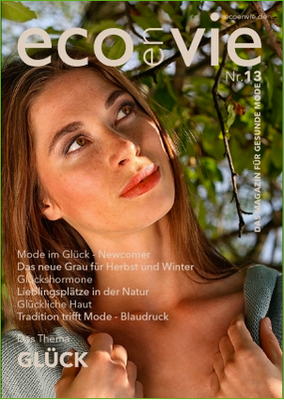 EcoenVie Magazin Nr.13 - das Magazin für gesunde Mode
