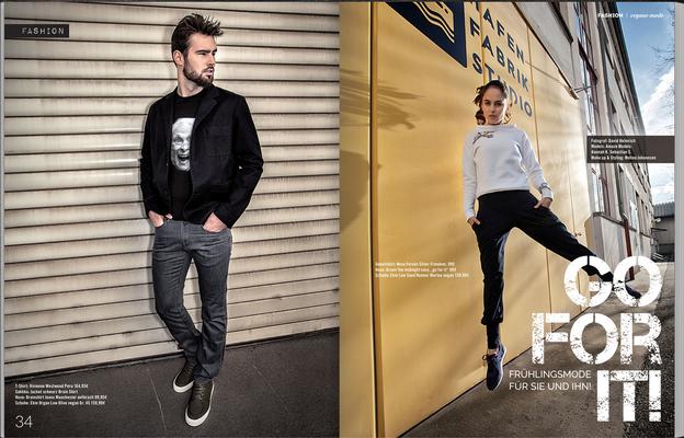Fashion Styling for Welt Vegan Magazin by Melina Johannsen - Photo: David Helmrich
