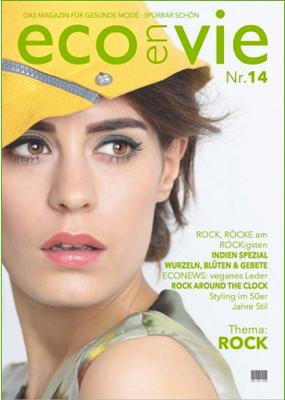 EcoenVie Magazin Nr.14 - das Magazin für gesunde Mode