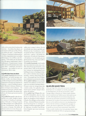 Jardin zen, aménagement patio, jardin minéral, sec, bassin