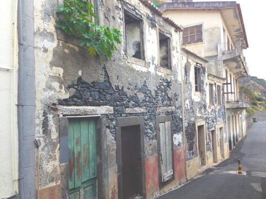 Häuserreihe Madeira