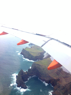 Anflug Madeira