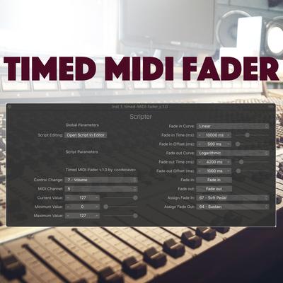 Timed MIDI Fader