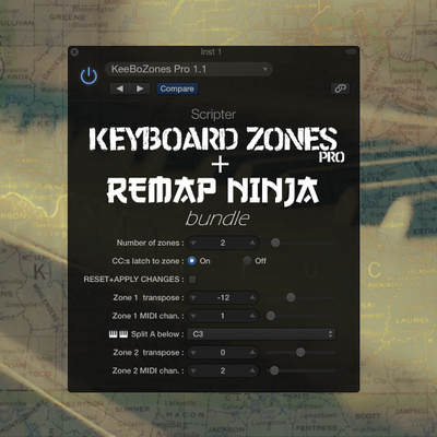Keyboard Zones Pro + Re-Map Ninja