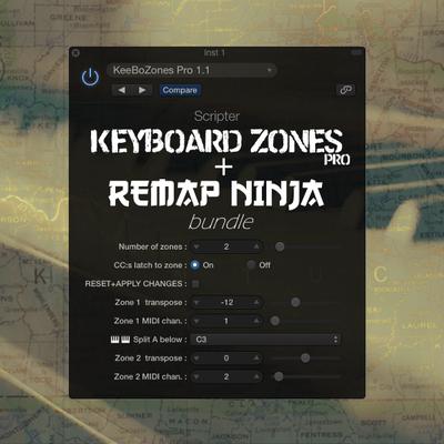 Keyboard Zones Pro + Re-Map Ninja
