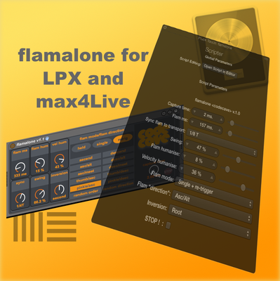 Flamalone (for LPX andmax4Live)