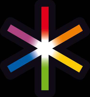 Logo-Stern  AHRR Design Klaus Wiesel, Mülheimer Künstlerbund MKB
