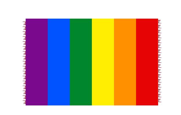 Entwurf zu handgewebten Decke Regenbogen