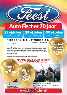DM - Automotive Sales Event - Mailing Autobedrijf Fischer Enschede - Ford