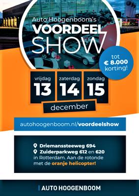 Buitenreclame - Automotive Sales Event - Auto Hoogenboom Rotterdam - Volkswagen-Audi-SEAT-ŠKODA - 207 verkochte auto's in 1 weekend - december 2019