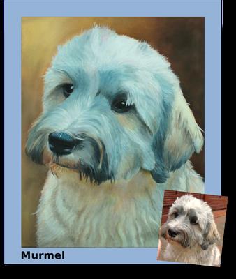 Murmel, 50 cm x 60 cm, Öl auf Leinwand