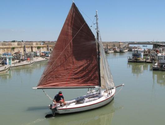 Martin-Pêcheur, vieux gréement, Bourcefranc-Le Chapus, Pays Marennes-Oléron, Charente-Maritime