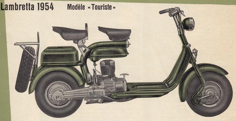 Lambretta 125 E / 1953