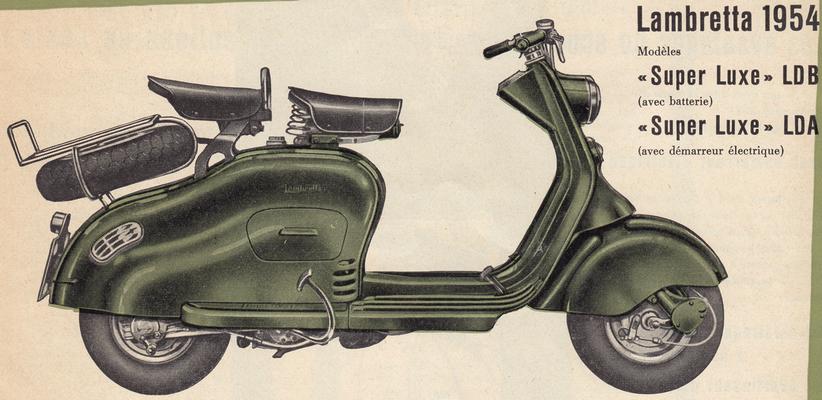 Lambretta 125 LD / 1954-56