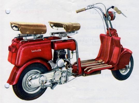 Lambretta B / 1948-50