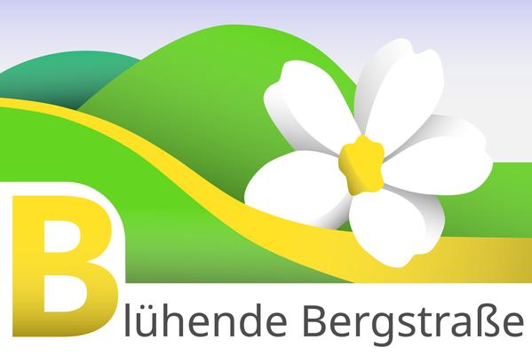 """Logo des Vereins """"Blühende Badische Bergstraße"""""""
