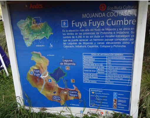 Wanderung auf den Vulkan Fuya Fuya