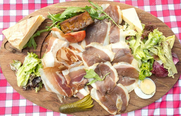 Salade Jambon et Fromage