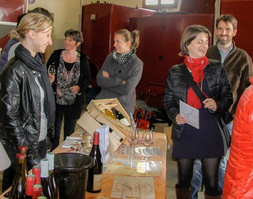 Verkoop van de wijnen gebeurt aan huis bij Nicolas